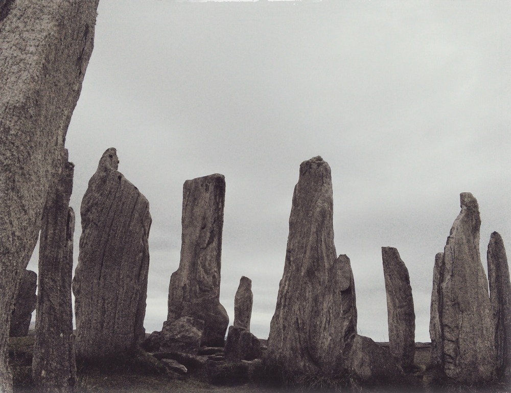 Calanais Standing Stones - isle of Lewis.