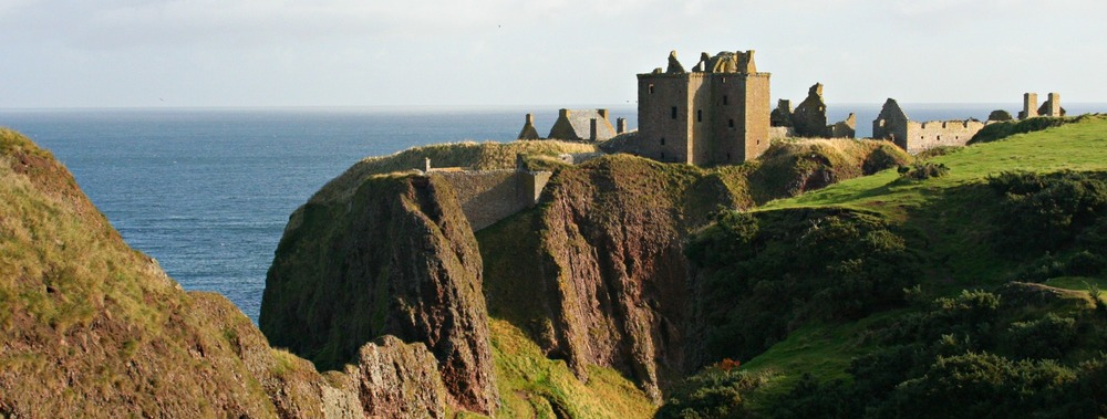 Dunnottar Castle, south of Aberdeen