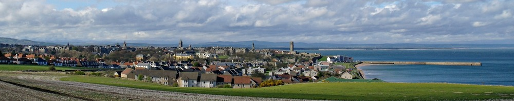 St Andrews' skyline