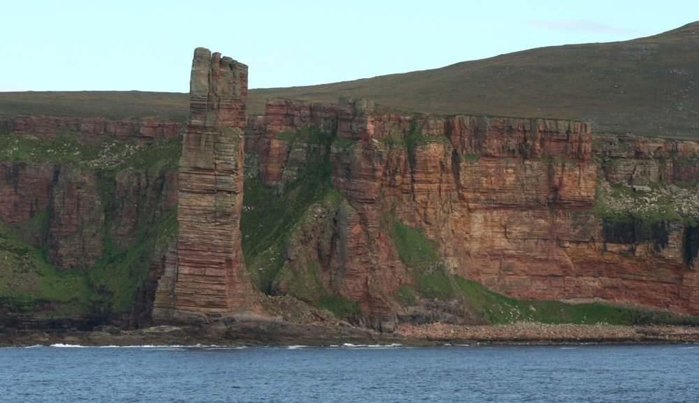 Old Man of Hoy, pictured from the ferry.
