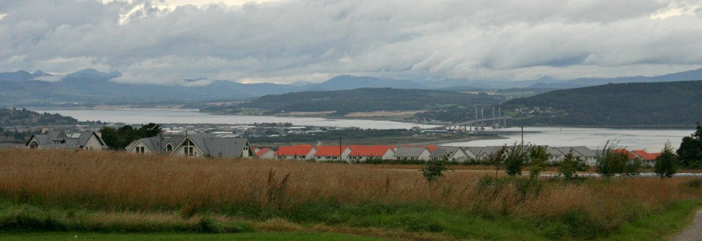 The expanding city of Inverness approaches Culloden Battlefield.
