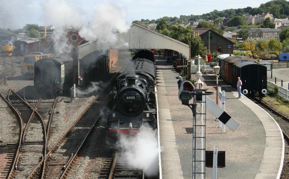 Bo'ness Railway Standard Class 4 2-6-4 No 80105