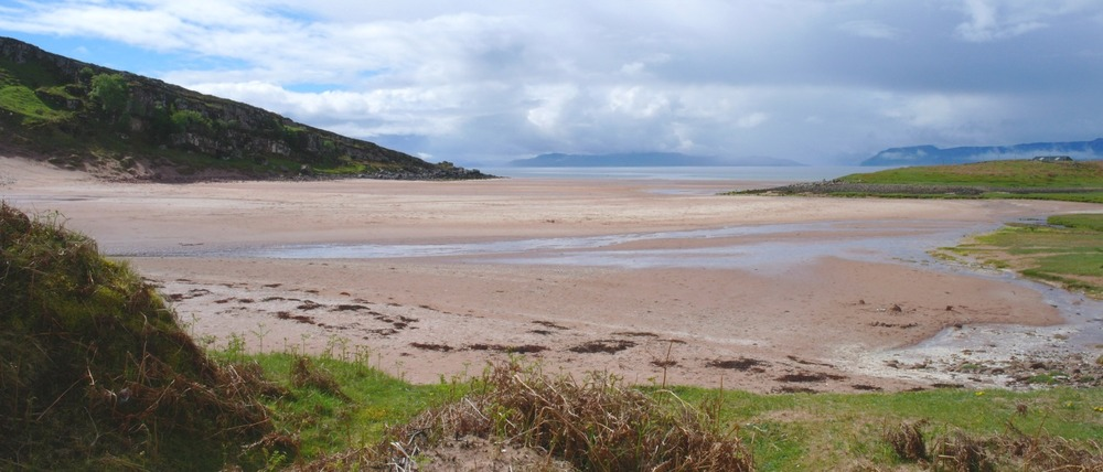 An Cruinn-Leum beach, on the way to Applecross.