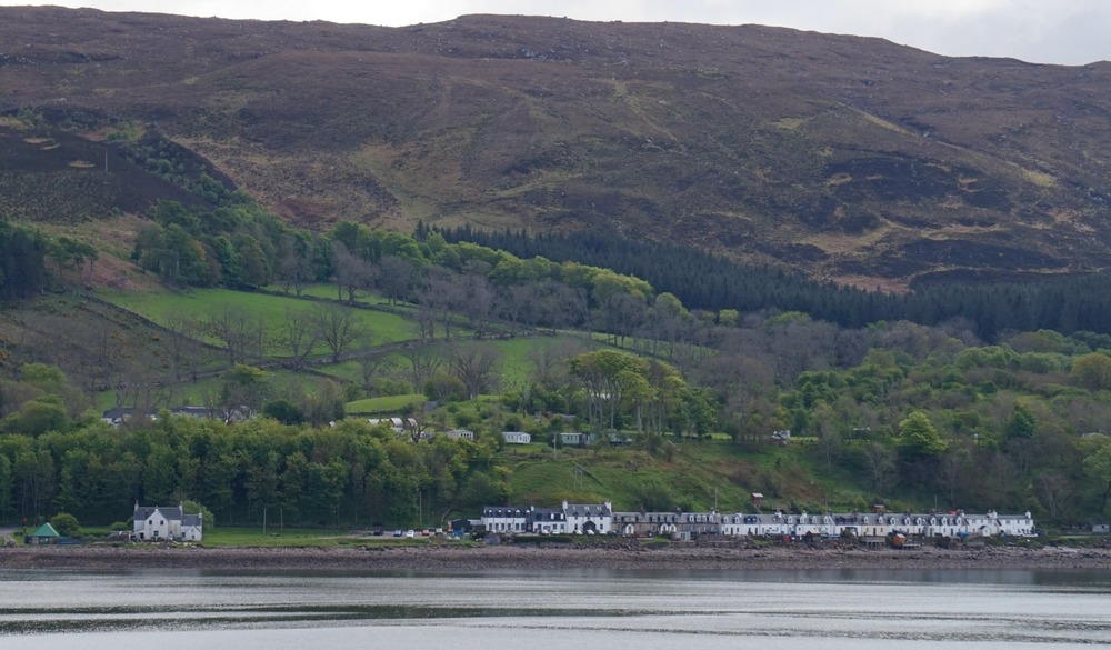 Applecross from the approach road