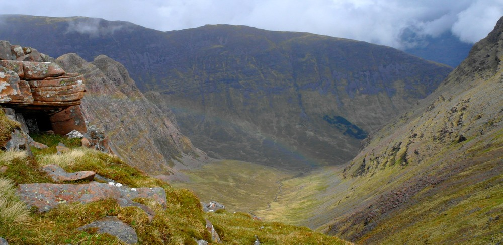 Coire a' Chaorachain - the coire of the rowan tree