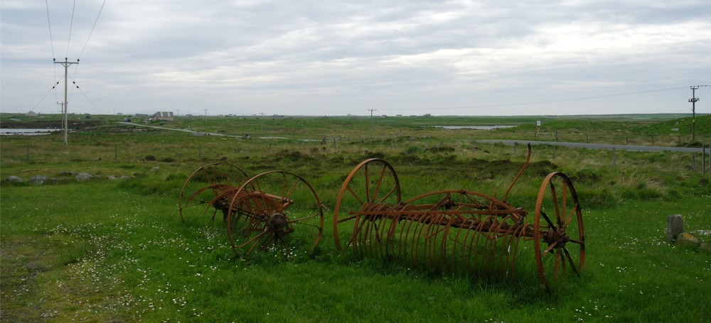 Kildonan Musuem, South Uist. View from the carpark.