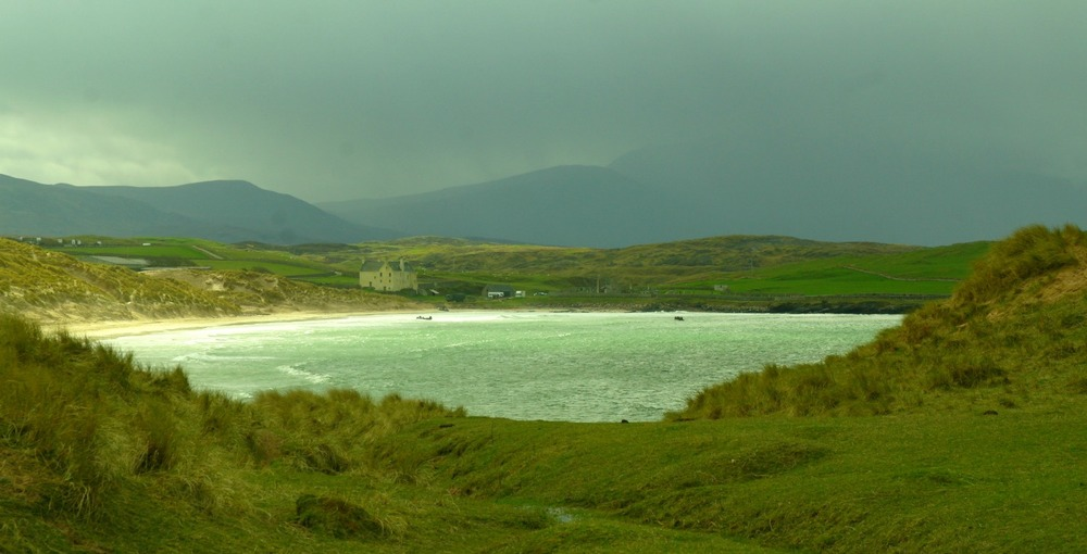 Balnakeil Bay, near Durness, near the very top left hand side of Scotland