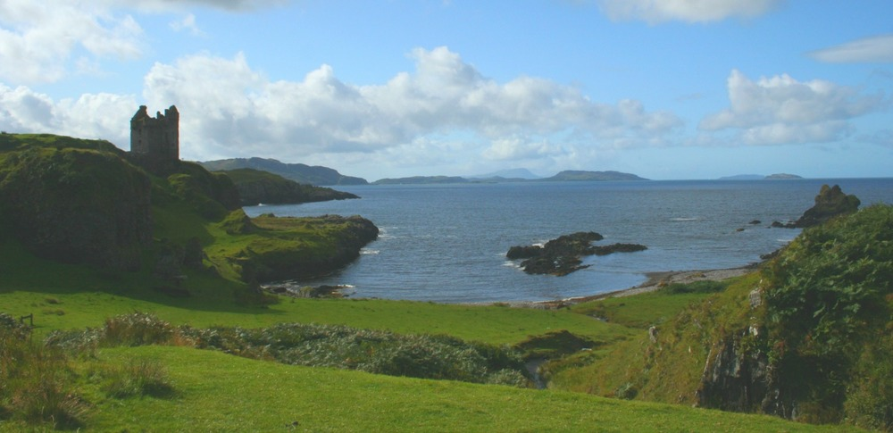 Gylen Castle, south end of Kerrera