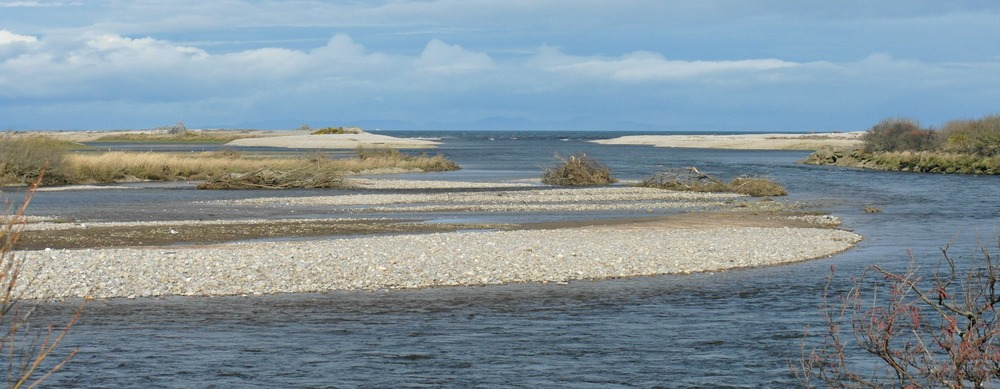 Mouth of the Spey. Osprey country.