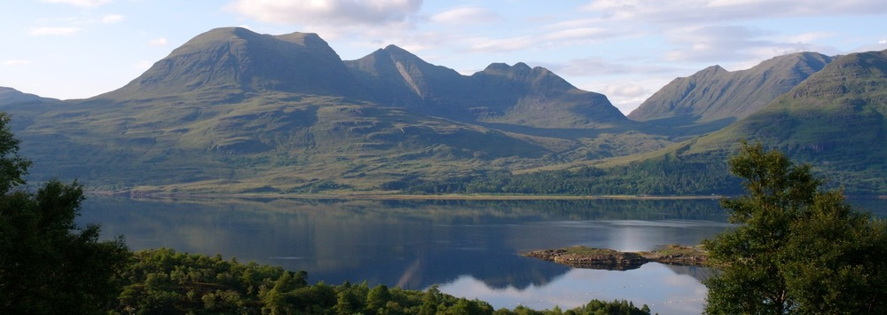 Beinn Alligin across Loch Torridon