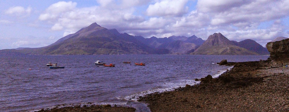 The Cuillins from Elgol, Skye