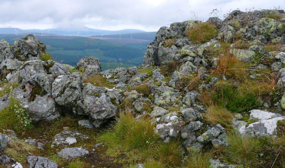 Vitrified stonework