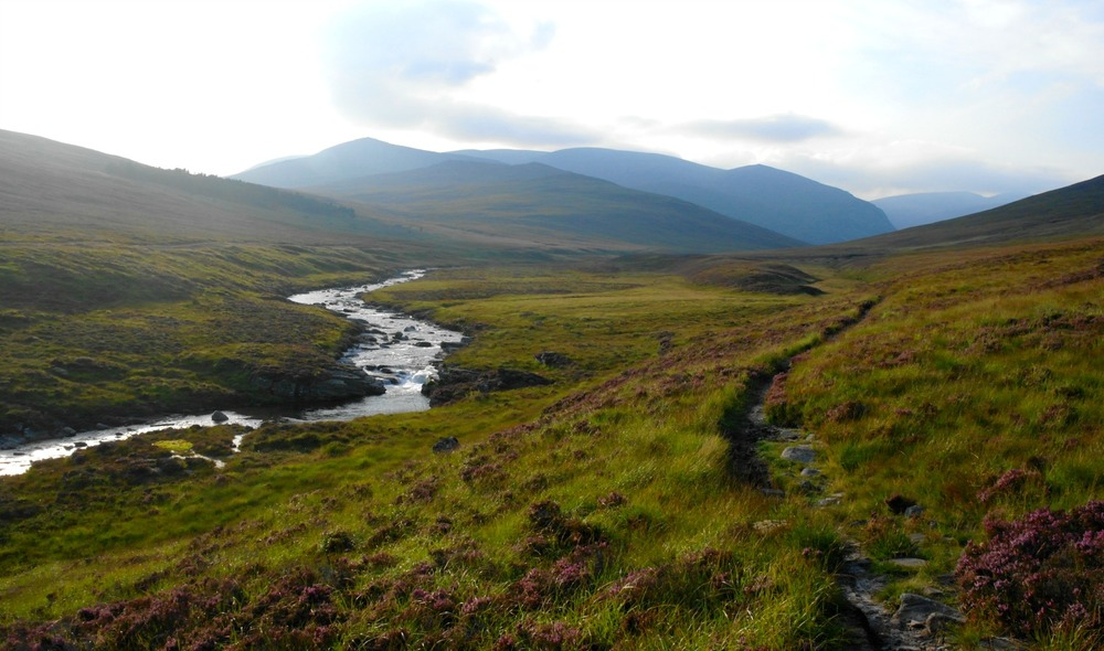 In Glen Dee - evening