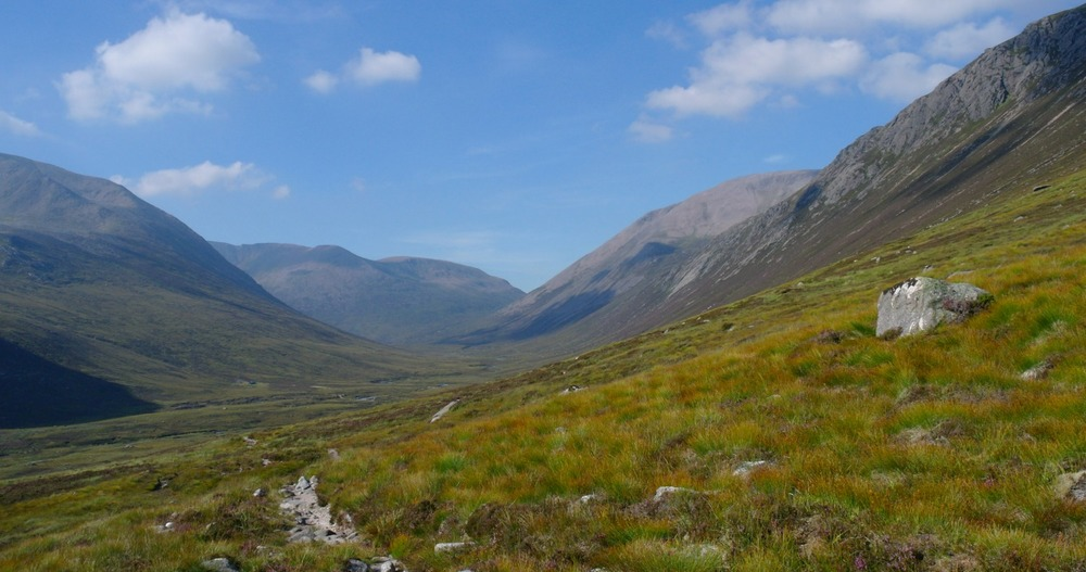 Lairig Ghru in August.