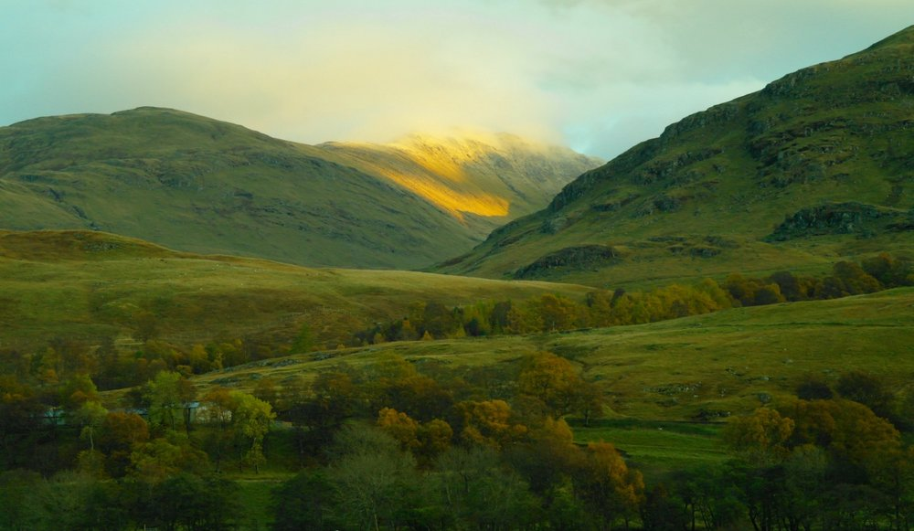 Late afternoon in Glen Lyon