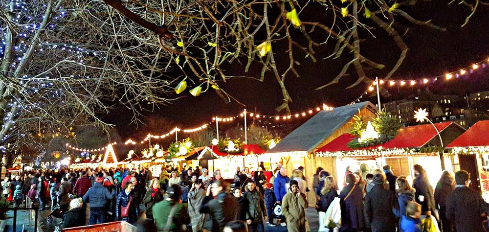Edinburgh Christmas Market - December