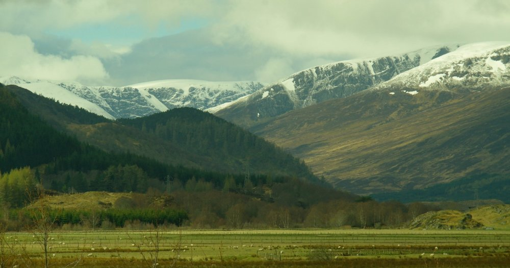 Near Laggan - April