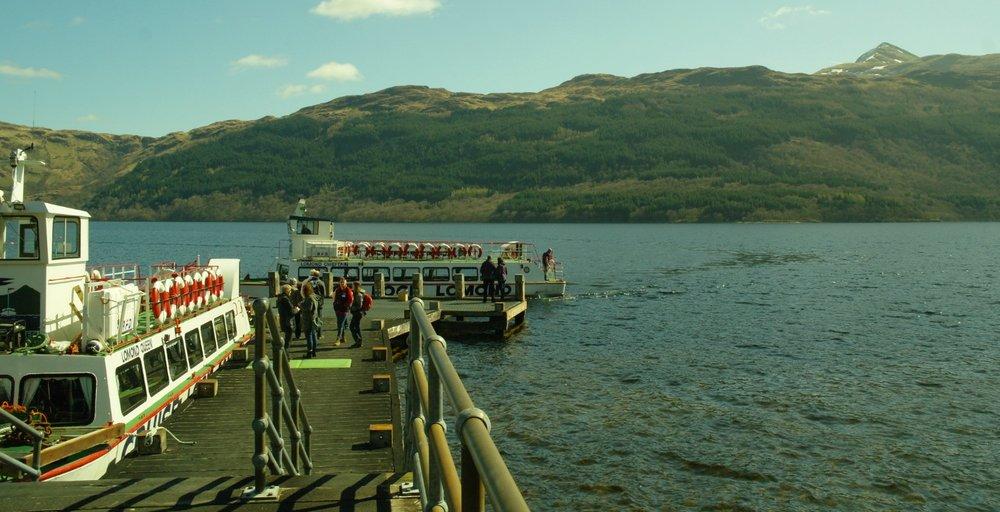 Cruising Loch Lomond