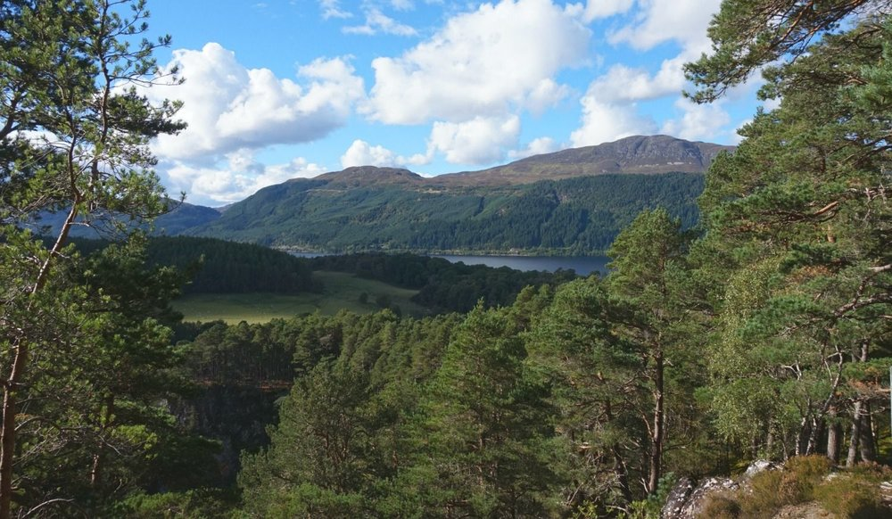 Loch Ness from near Foyers