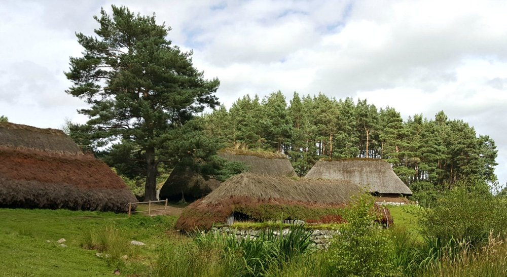 Just one part of the Highland Folk Museum, Newtonmore, one of our favourite places to visit in Scotland