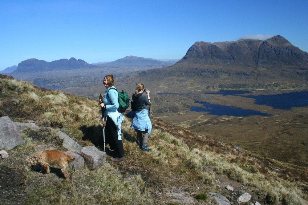 Climbing Stac Pollaidh - in Scotland's midge-infested North-West Highlands