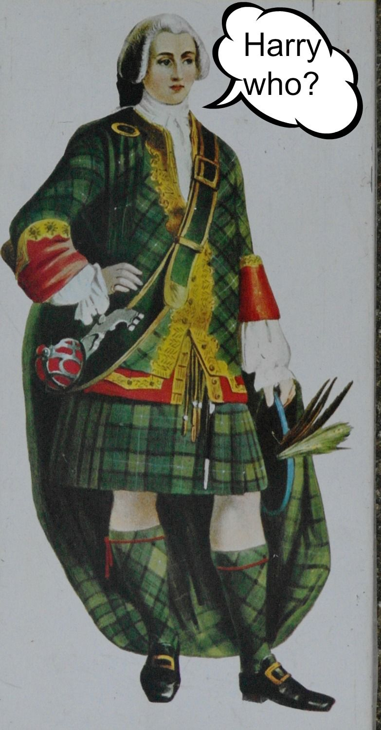 A really awfully bonnie Prince Charlie