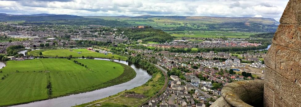 Stirling: view from the Wallace Monument