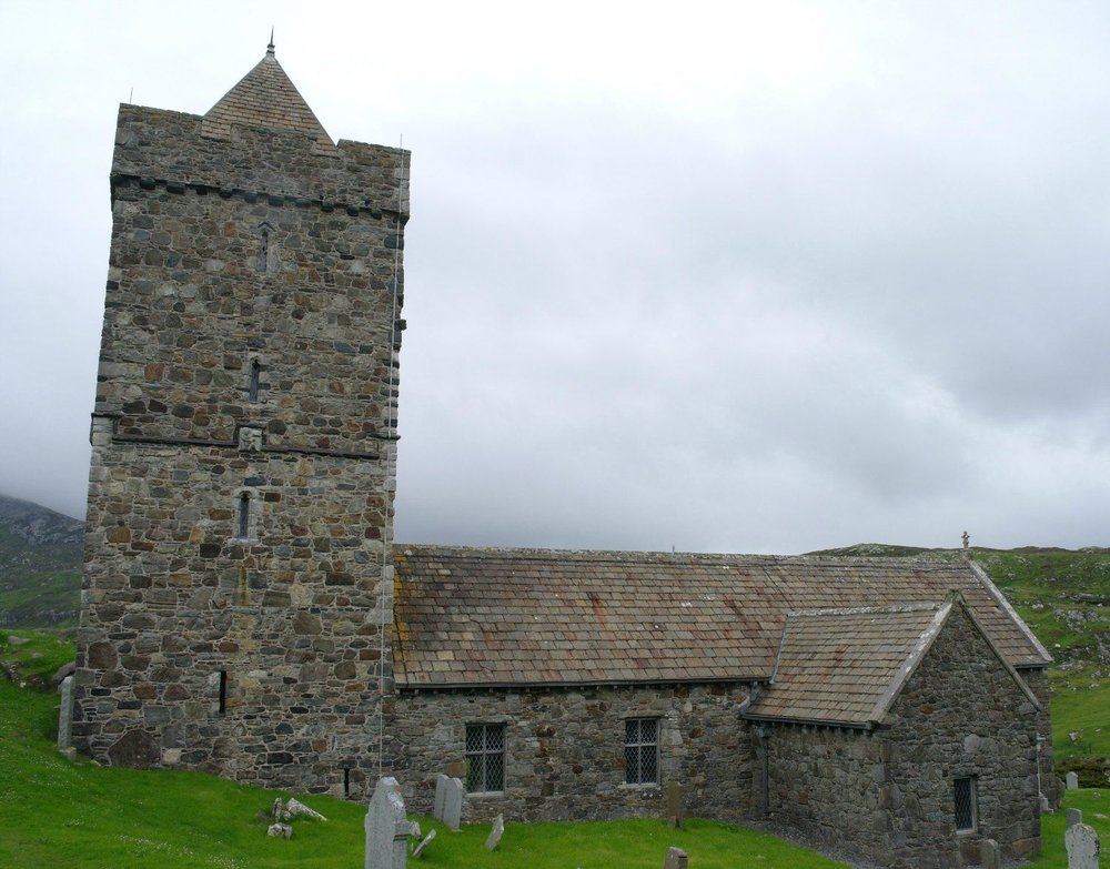 St Clement's Church at Rodel