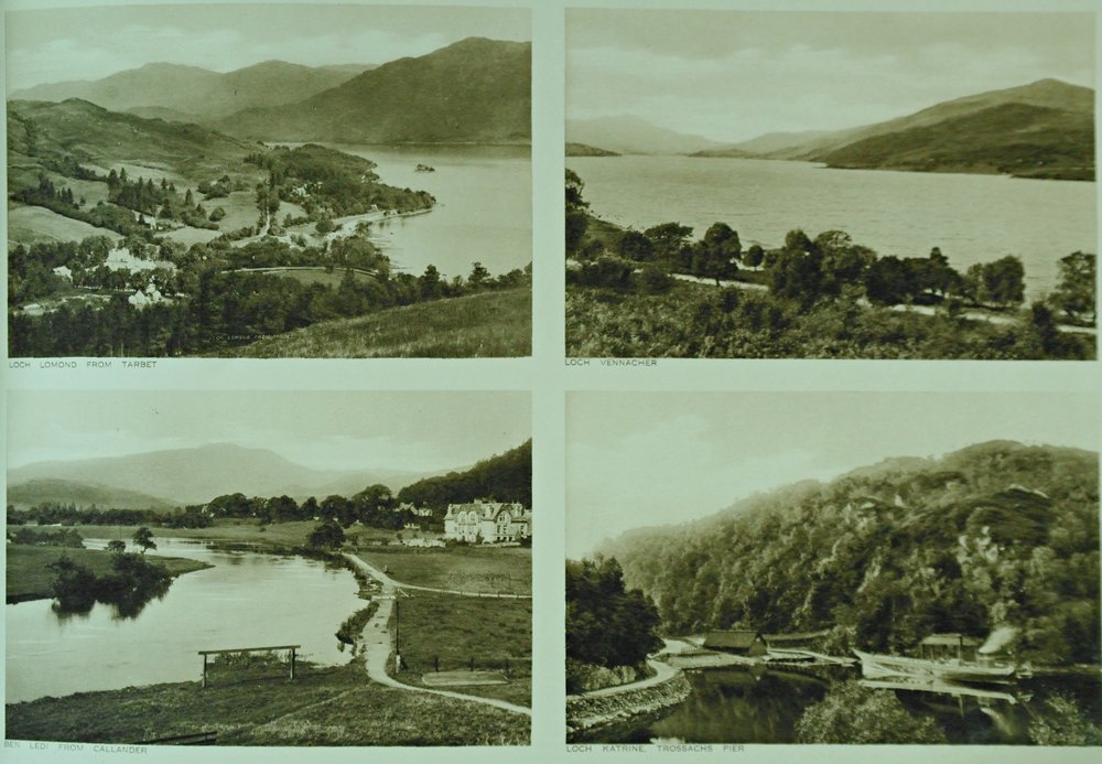 Hundreds of guidebooks and printed materials about the Trossachs area were published over the years