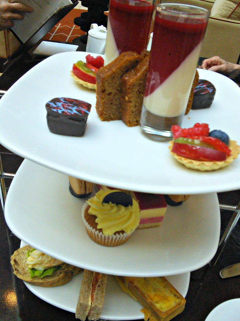 Afternoon tea at The Caledonian Hotel, Edinburgh.