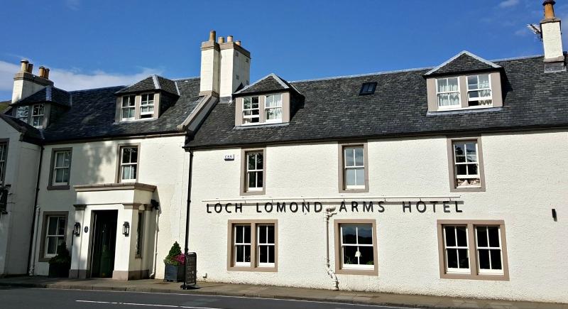 Loch Lomond Arms Hotel in Luss