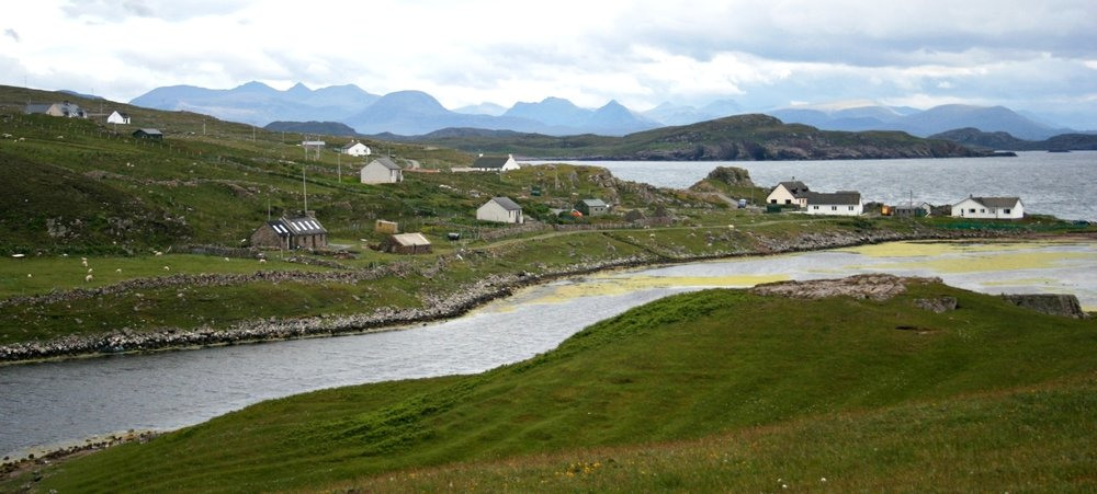 Reiff, an old settlement near Achiltibuie, north-west Scotland
