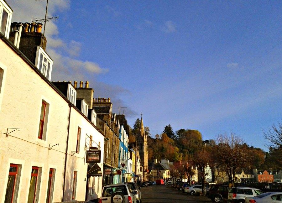 Main Street, Tobermory, Isle of Mull.