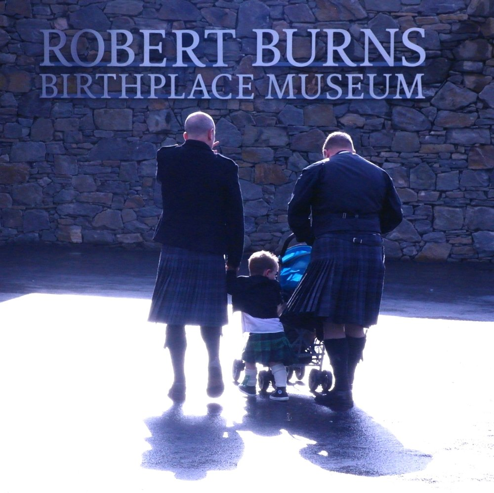 Kilt wearing is not compulsory for entry into the Robert Burns Museum.