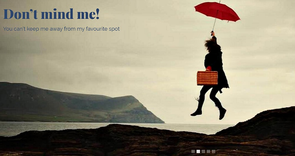 You'll find this on the Stromness website. Nope, no idea what this is about. A sudden gust of wind?