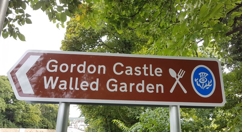 Look out for Scotland's helpful brown 'thistle signs'.