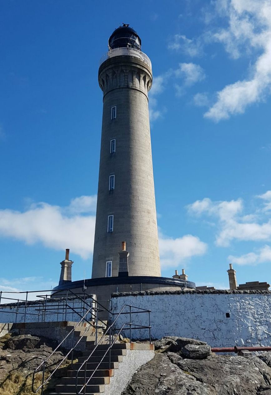 Ardnamurchan Lighthouse. Credit: Grant Street Desperadoes.