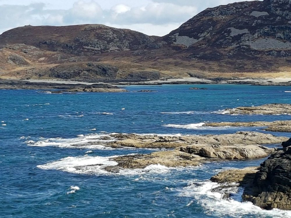 Ardnamurchan seascape. Credit: Achawaayego PR.