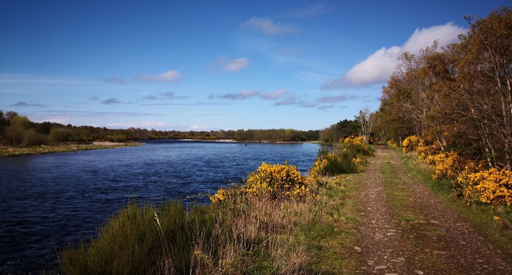 The River Spey, near Fochabers, Moray