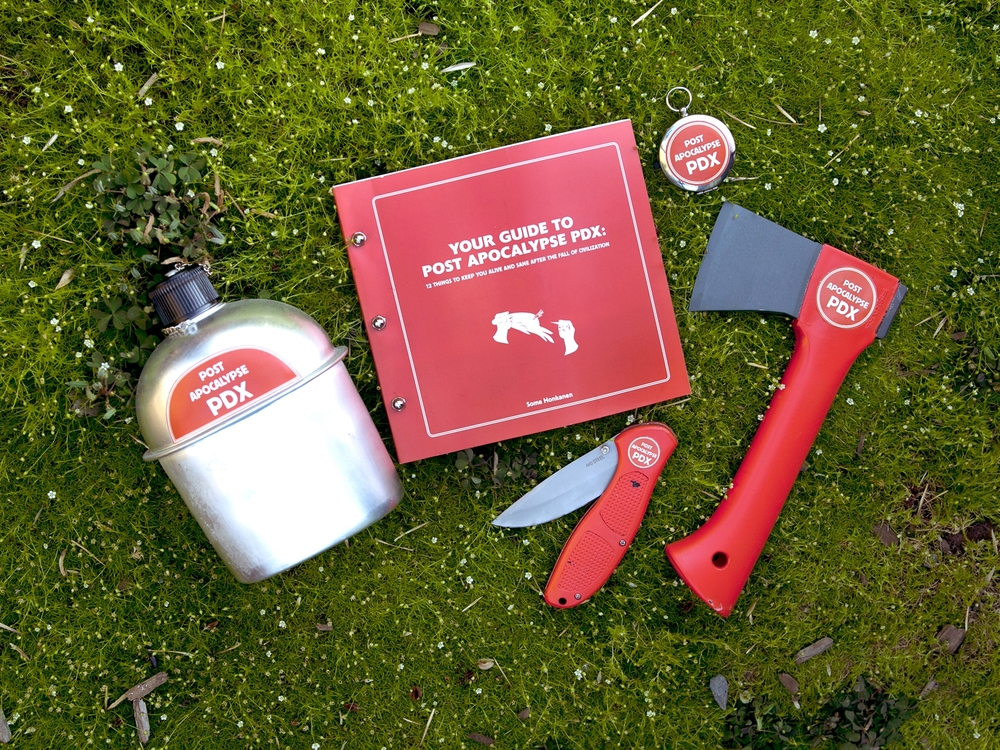 Post Apocalypse PDX • Survival Guide and Kit