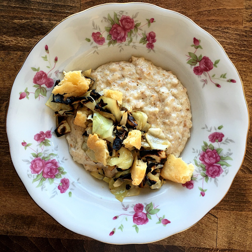[cracked grain porridge]