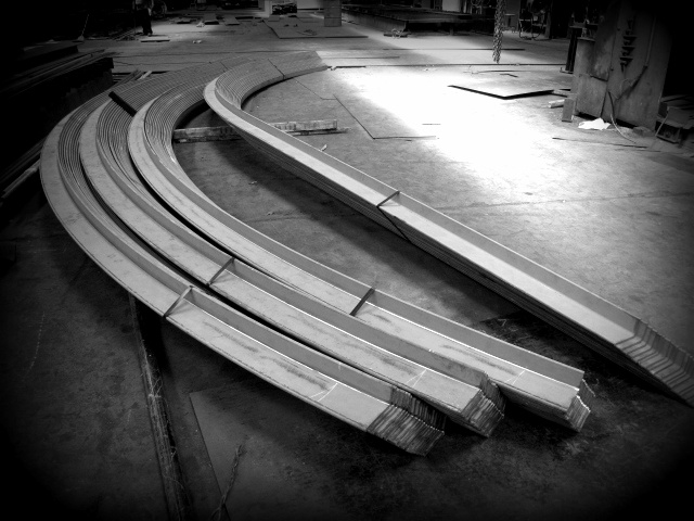 Rolled Hull Angle Set for Shipbuilder