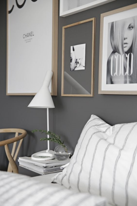 Grey bedrooms to dream about.