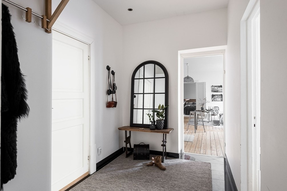 Scandinavian home with a touch of NY