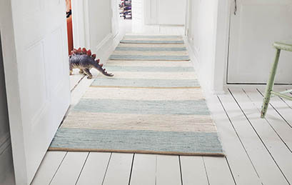 Beautiful Rag Rugs from Swedish Rags.