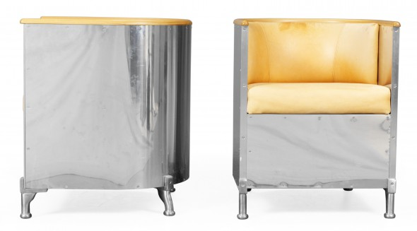 Aluminium Chair by Mats Theselius.