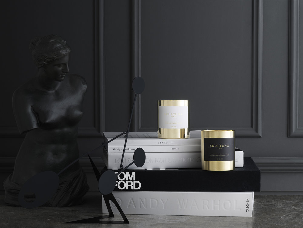 Scented Candles from Skultuna.