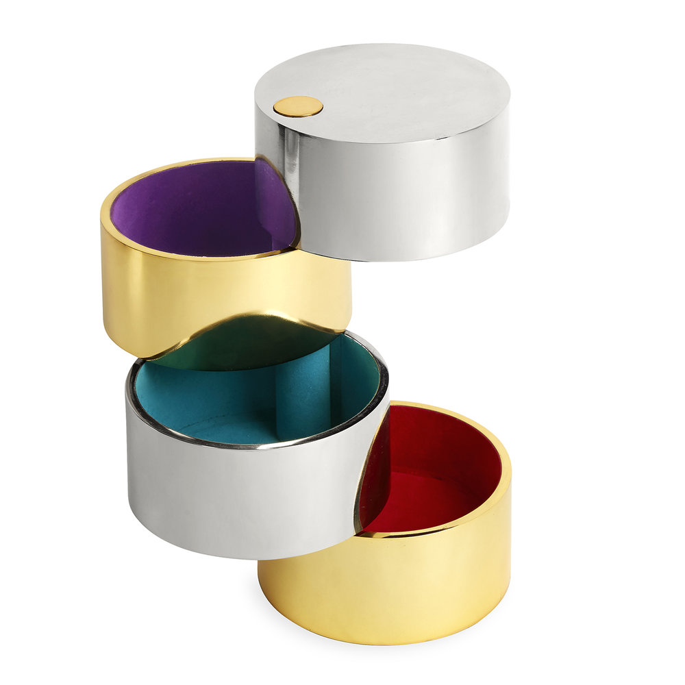 This Jonathan Adler cylinder box is on my list to Santa!