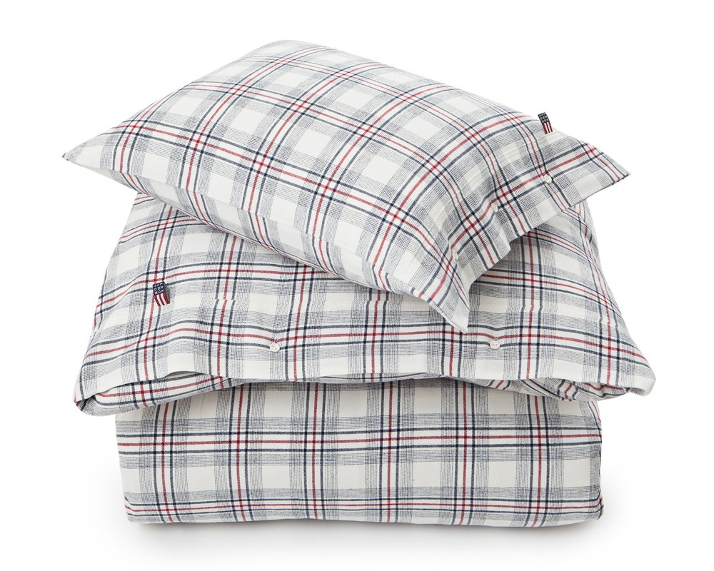 This plaid flannel duvet cover set from Lexington on my wish list.