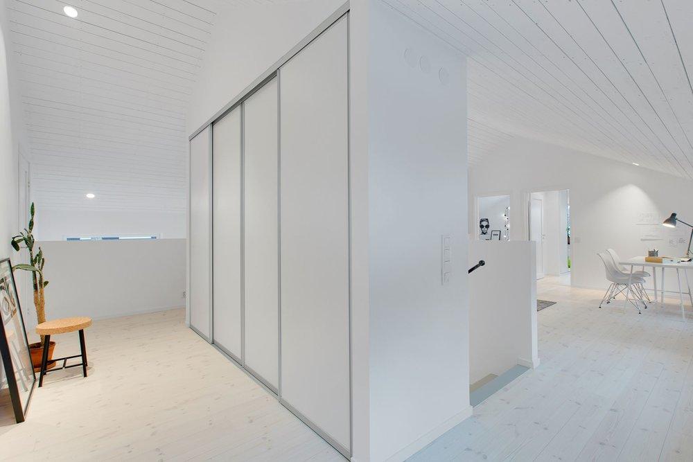 Modern Scandinavian home - closets.